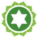 Žalia čakros emblema