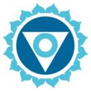 Mėlyna čakros emblema